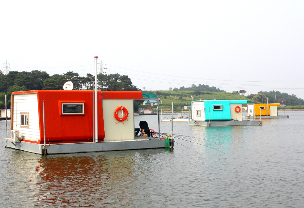 钓况 野钓 海钓 69 北京池塘钓况每日汇报 69 韩国的浮台钓鱼  &